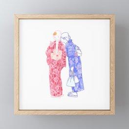 Japan Tech Framed Mini Art Print