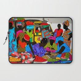 african market 1 Laptop Sleeve