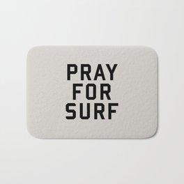 Pray For Surf Bath Mat