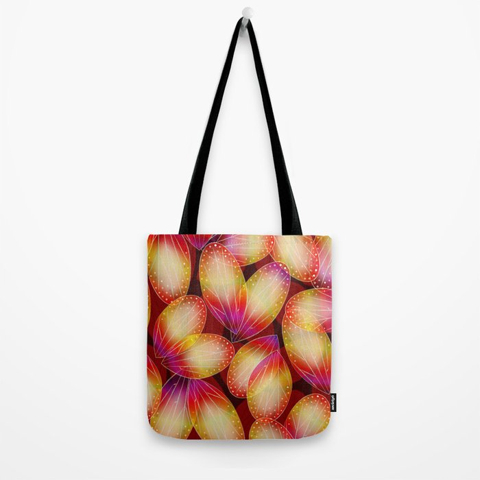 Fire Fairy Wings Tote Bag
