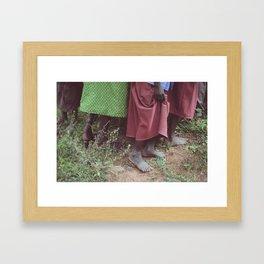 Skirts Framed Art Print