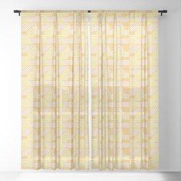 Geo Sunrise Sheer Curtain