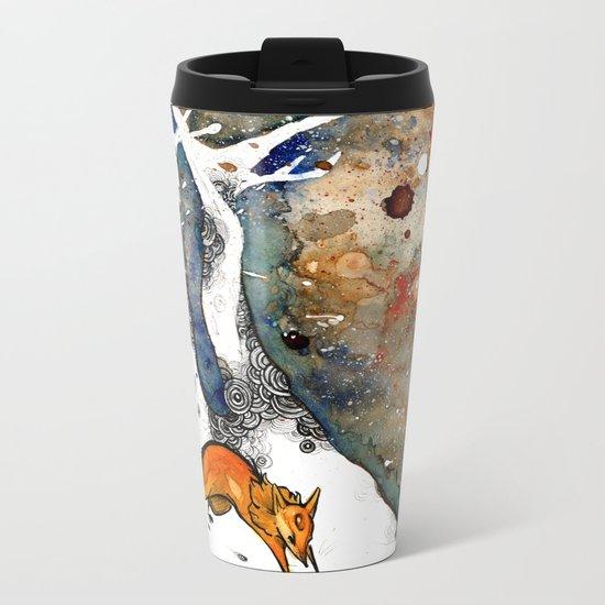 The Winter Fox Metal Travel Mug