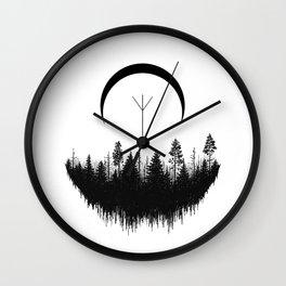 Forest of Elhaz Wall Clock