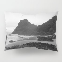 Mist Rolling in at Kynance Cove Pillow Sham