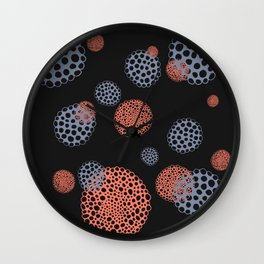 Space Pods Wall Clock