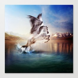 Pegasus, Part 2 The Ancients Series  Canvas Print
