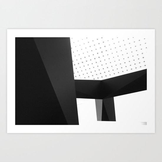 Geometric Bliss Art Print