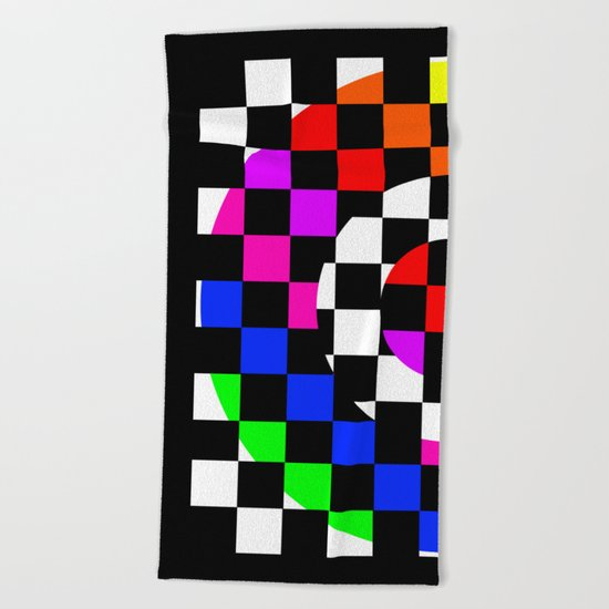 Triggle | Colorful Secret Geomoetry | Play Beach Towel