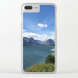 lake by the Mountains Clear iPhone Case