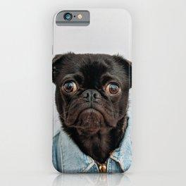 Pug Got Style iPhone Case