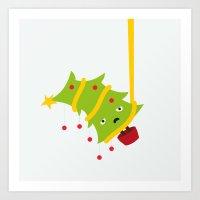 Hanging Tree Art Print