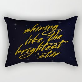 Shining Like The Brightest Star Rectangular Pillow