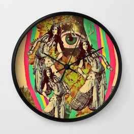 When we travel Wall Clock