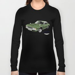 James Bond Aston Martin DBS from OHMSS Long Sleeve T-shirt