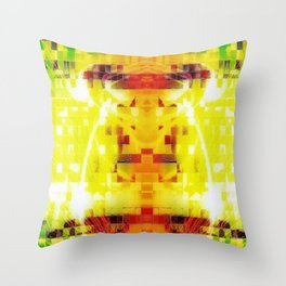 EL TORO MURAL Throw Pillow