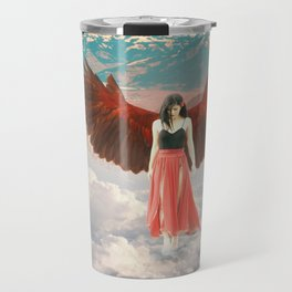 Lady of the Clouds Travel Mug