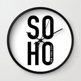 SOHO New York Wall Clock