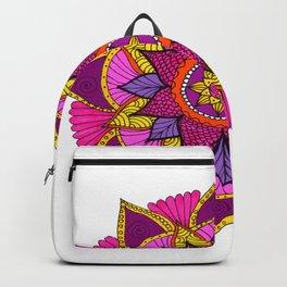 mandala rosa Backpack
