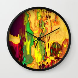 Gluttony Wall Clock