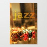 jazz Canvas Prints featuring Jazz ! by teddynash