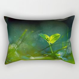 Glowing in the Moon Rectangular Pillow