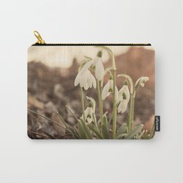 Snowdrop Carry-All Pouch