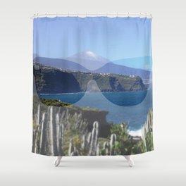 sunglasses, teneriffa Shower Curtain
