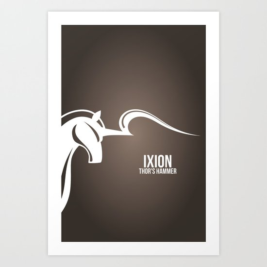 Final Fantasy X - Ixion Art Print