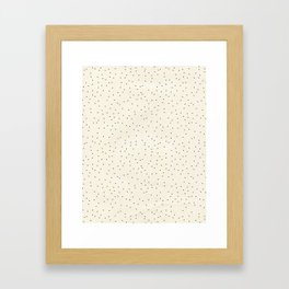 Beautiful Dots Framed Art Print