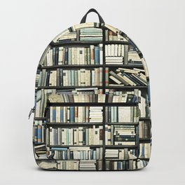Bookshelf Art Fantasy Backpack