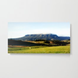 Halo over Mt.Roland. Metal Print