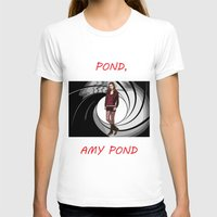 amy pond T-shirts featuring Pond, Amy Pond by DarkCrow