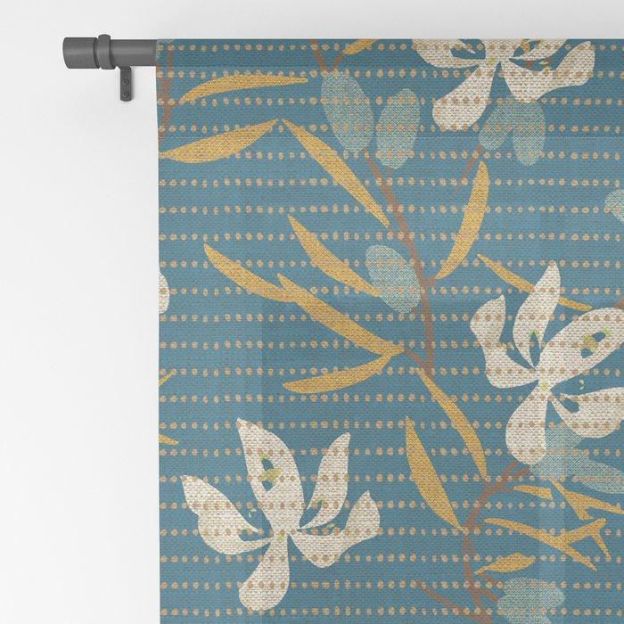KALI OLIVE Sheer Curtain