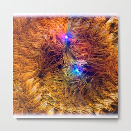XMAS Sparkle Metal Print
