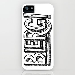 Blerg! iPhone Case