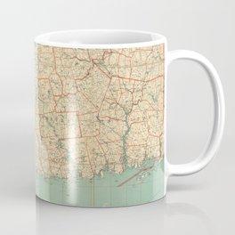 Vintage Map of Connecticut (1823) Coffee Mug