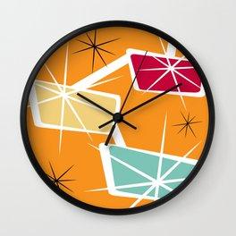 Retro Color 05 Wall Clock