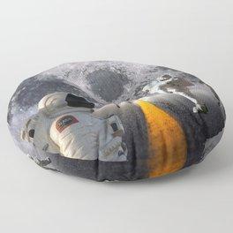 The Lost Astronauts Floor Pillow