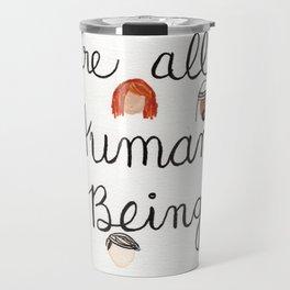 Human Beings 2 Travel Mug