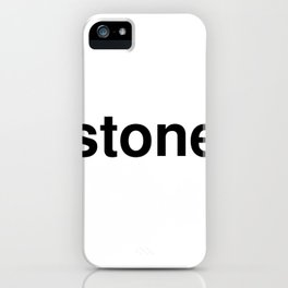 stone iPhone Case