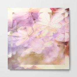 romantic flower design Metal Print