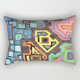 Amusement Park Rectangular Pillow