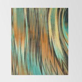 Ocean Sunset Throw Blanket