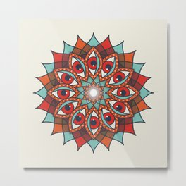 Bali Eyes 1 Metal Print