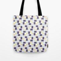 writing Tote Bags featuring Reading & Writing by Sebastián Guha
