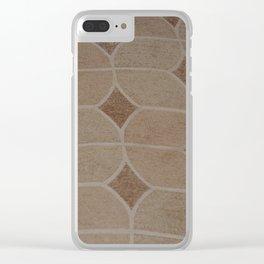 fibric pattern Clear iPhone Case