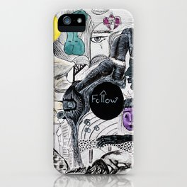Follow iPhone Case