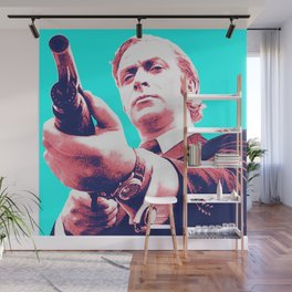 Fathers Day - Michael Caine screen print Wall Mural