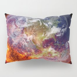 Global Warming Climate Change Pillow Sham